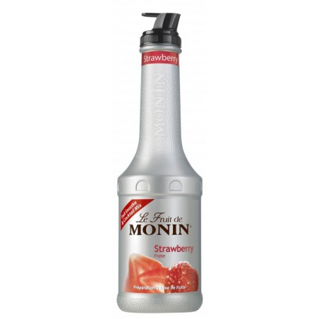 Monin Aardbei Fruitpuree