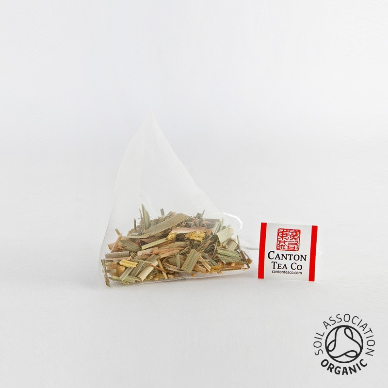 Canton Tea Lemongrass en Ginger piramidezakjes