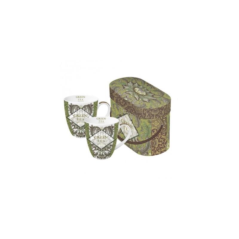 PPD green tea mokkenset rond