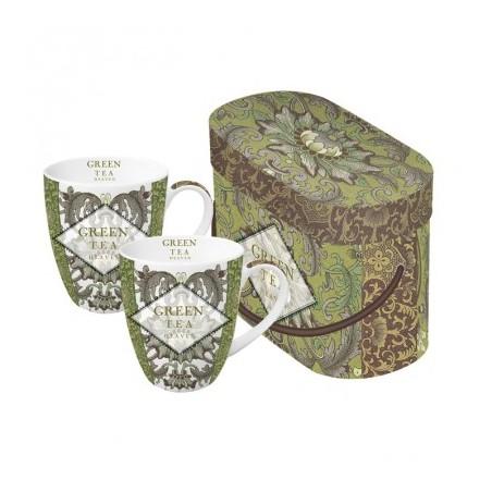 """PPD Mokken Gift Box """"Green Tea"""" rond"""