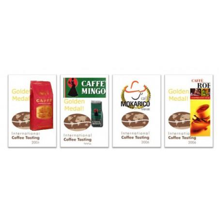 Proefpakket bekroonde koffiebonen