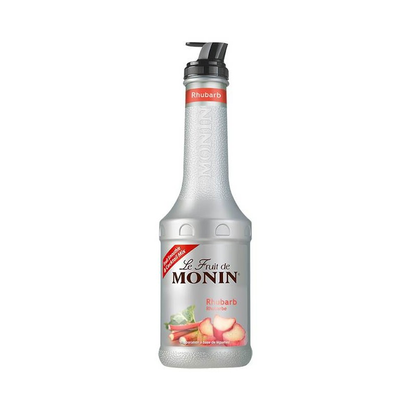 Monin Rabarber Fruitpuree