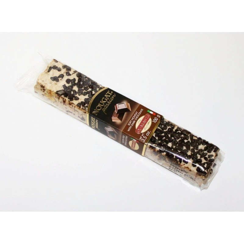 Quaranta zachte nougat met donkere chocolade