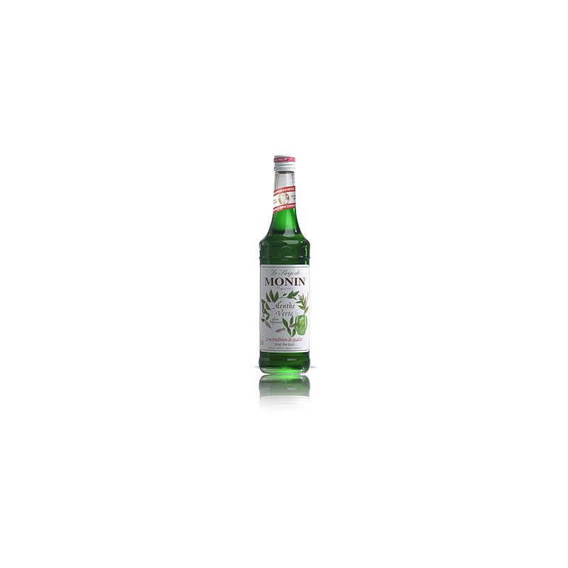 Monin Green Peppermint (menthe verte)