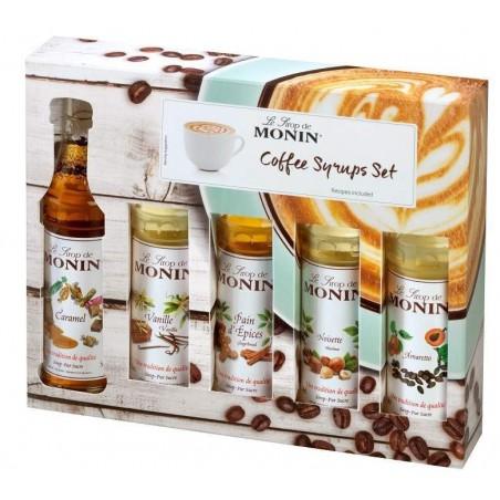 Monin Mini Koffie Siropen Set
