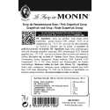 Monin Rode Grapefruit Siroop