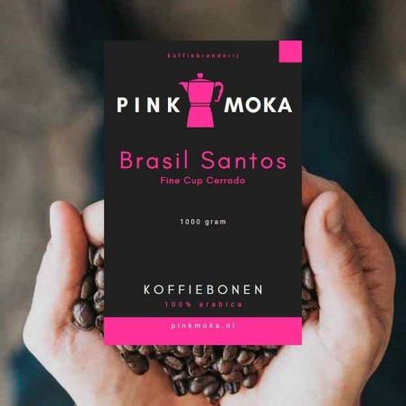 Pink Moka Brasil Santos Fine Cup Cerrado Koffiebonen