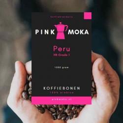 Pink Moka Peru HB  Grade 1 Koffiebonen