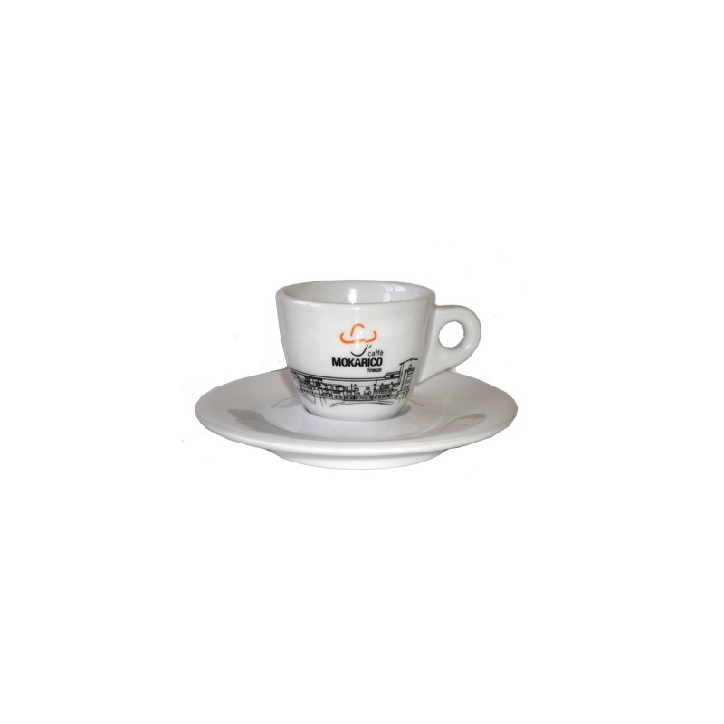 Mokarico Espresso Kop en Schotel