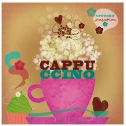 "PPD Lunch Servetten ""Cappuccino"""