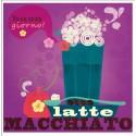 "PPD Cocktail Servetten ""Latte Macchiato"""