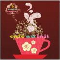 """PPD Lunch Servetten """"Cafe au Lait"""""""