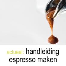 handleiding espresso maken
