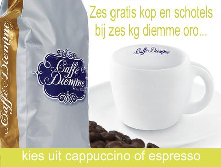 aanbieding diemme-koffie