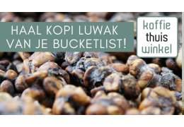 Kopi Luwak- de meest exclusieve koffie ter wereld
